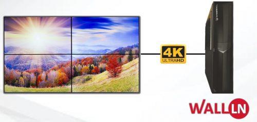 Yeni Nesil 4K Videowall Kontrol Ünitesi, Düşük Sesli, Slim ve Güçlü